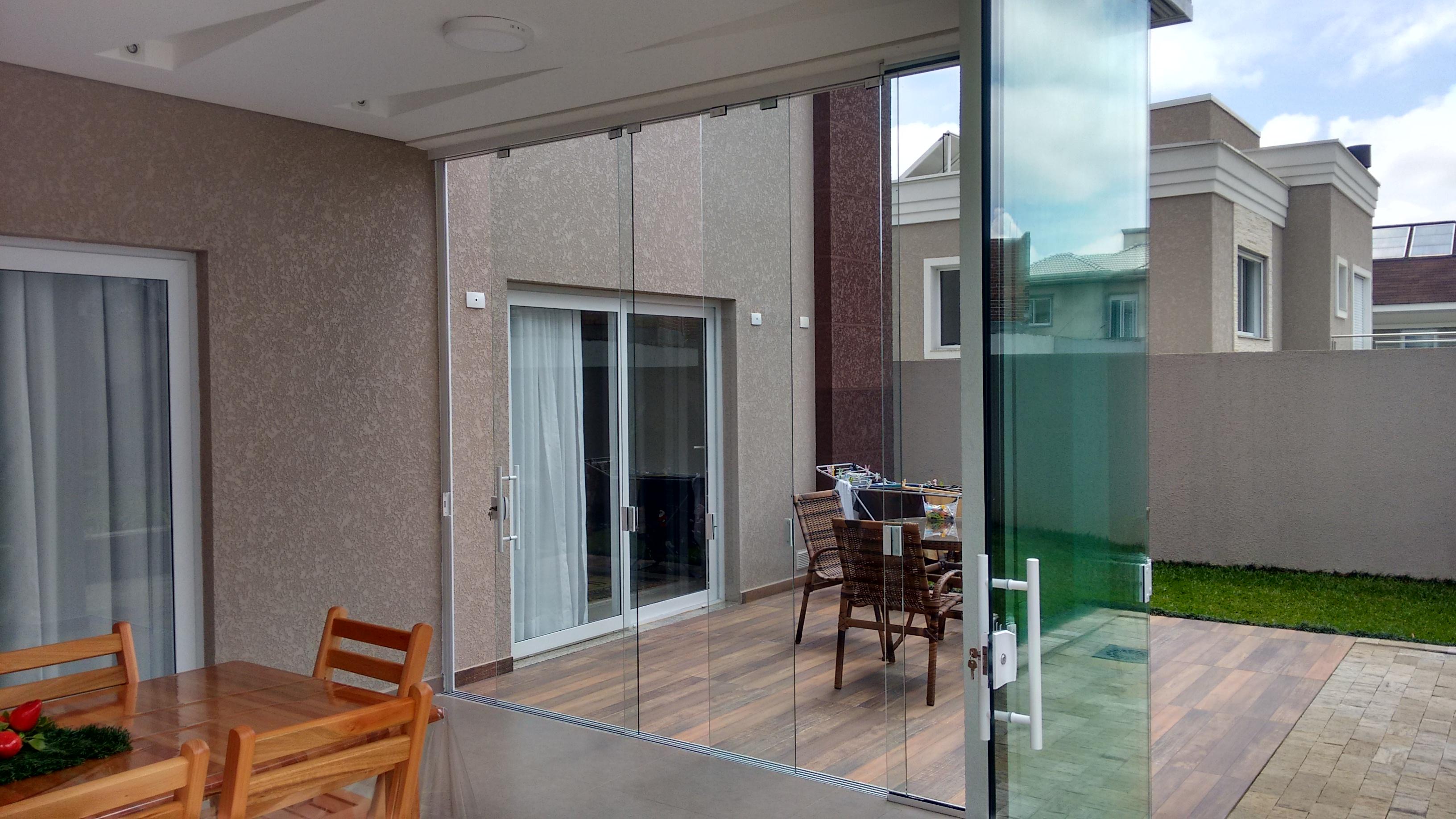 #3F6F8C Vidros para Cobertura Janelas e Portas Realiza Design Pergolados  1612 Vidros Para Portas E Janelas
